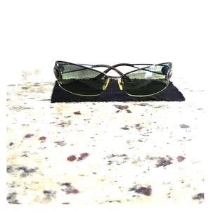 Versace green sunglasses